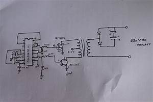 100 Watt Power Inverter Circuit Diagram And Pcb