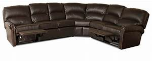 Tulsa reclining leather sectional leather creations for Sectional sofas tulsa