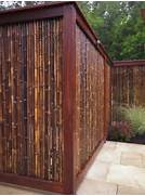 Fence Asian Decor Bamboo Fence Asian Yard Landscape Design Wood Fence Designs Fences Wooden Fence Previous Fence Designs Next640 Fence Design Love This One MODMISSY Brick Fence Designs6