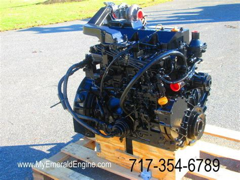 yanmar tnvt xtbl remanufactured engine plug  play takeuchi tl ebay