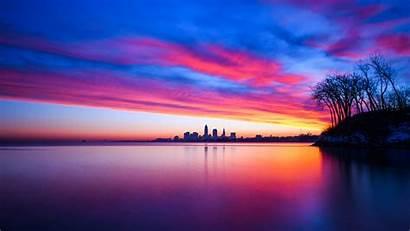 8k Sunset 4k 5k Clouds Sky Cityscape