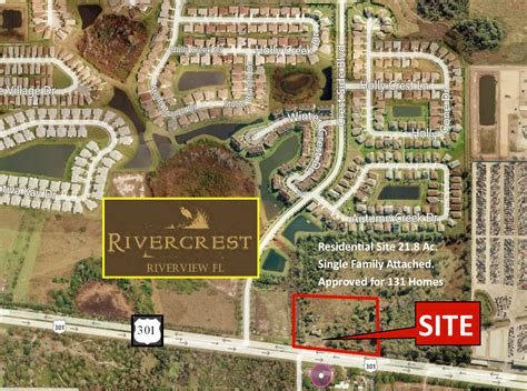 Hwy 301 S Riverview FL 5 Ac Office Development Site 50 000