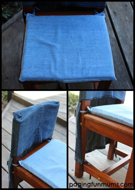 denim chair covers how to sew chair covers from simple craft 3152