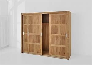 Kleiderschrank Ohne Spiegel : gro er kleiderschrank note aus massivholz mit schiebet ren ~ Sanjose-hotels-ca.com Haus und Dekorationen