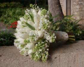 tulip bouquet wedding photo gallery white tulip bridal bouquet photo