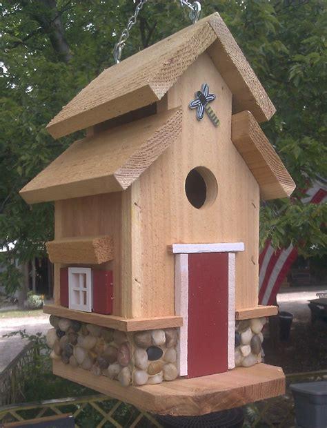 bird houses  mark chesapeake style birdhouse  rock trim