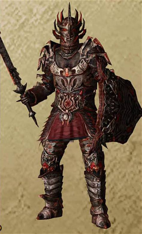 Oblivion Light Armor by Oblivion Style Daedric Armor In Skyrim Skyrim Mod