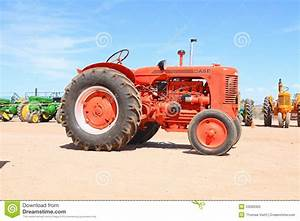 USA: Antique Tractor - Case S 1947 Editorial Image - Image ...