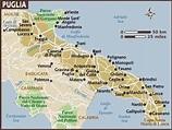 Map of Puglia & Basilicata   Vacanze in italia, Viaggi ...
