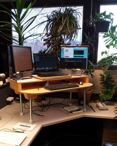 build a standing desk build your own stand up desk the easiest and cheapest way