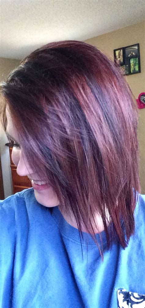 Different Colors Of Black Hair by Black Cherry Hair Color My Style Cherries