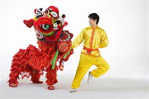 舞狮 The lion danceLearn Chinese Hujiang