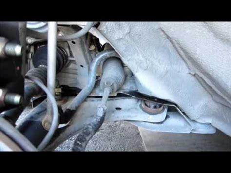 remove  replace  control arms stabilizer bar