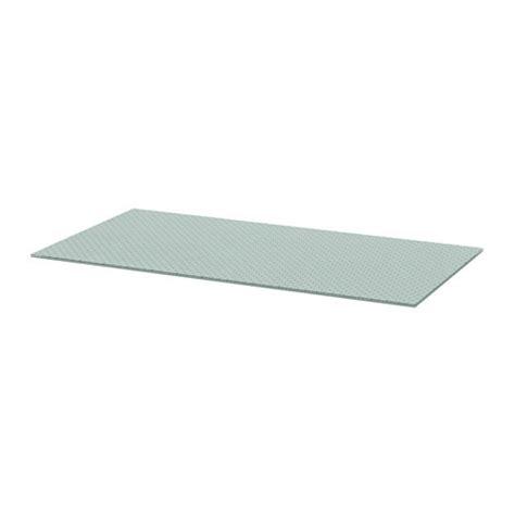 plateau de bureau en verre ikea glasholm plateau pour table ikea