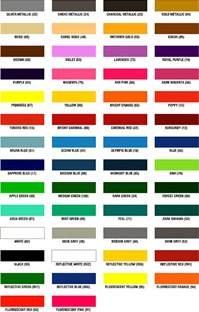 All Colors in Spanish and English