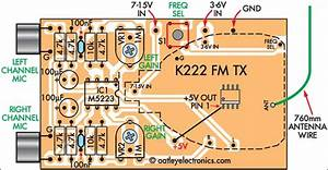Quality Stereo Wireless Microphone Or Audio Link Circuit