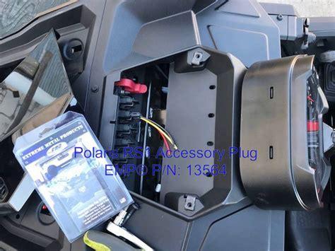 polaris rangerrs pulse bar plug