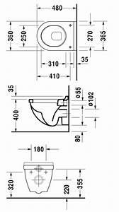 Dimension Wc Suspendu : dimensions wc suspendu id es de ~ Premium-room.com Idées de Décoration