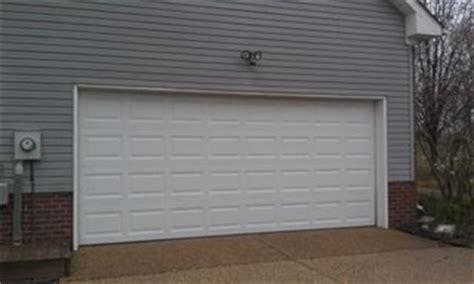 16x7 Insulated garage door