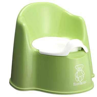 buy babybjorn potty chair green white at well ca free shipping 35 in canada