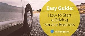 Invoice Small Business Easy Guide How To Start A Driving Service Business