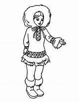 Eskimo Coloring Pages Awesome Inuit Clothing Chibi Dog Getcoloringpages sketch template