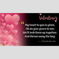 2019 Happy Valentines Day Quotes For Lover, Friends In Your Life