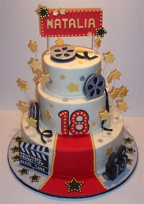 Hollywood Birthday Cake Cakecentralcom
