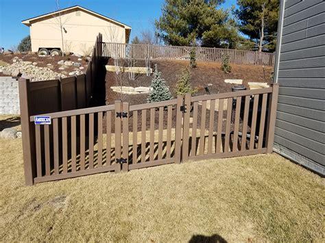 beautiful fences and gates beautiful chestnut brown woodland select fence amerifence corporation kansas city