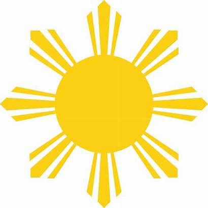 Flag Sun Philippines Symbol Svg National Wikipedia