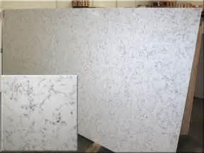 Arabesque White Quartz Countertop Silestone