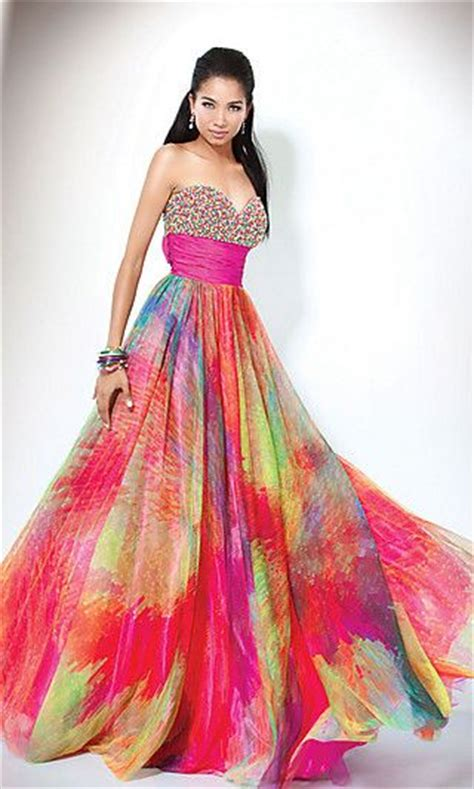 print prom dresses images  pinterest party