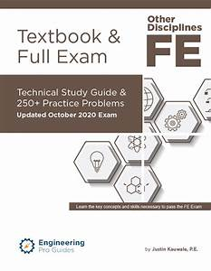 Fe Other Disciplines Textbook  U0026 Full Exam  Learn How To