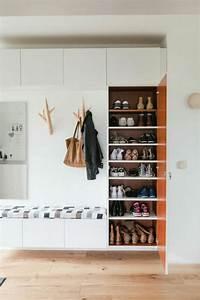 1001 idees pour un hall d39entree maison les elements a With meuble rangement entree couloir 4 meuble pour ranger les chaussures meilleures images d