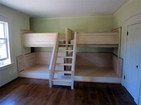 quad  bunk bed  quad bunk bed plans woodworking