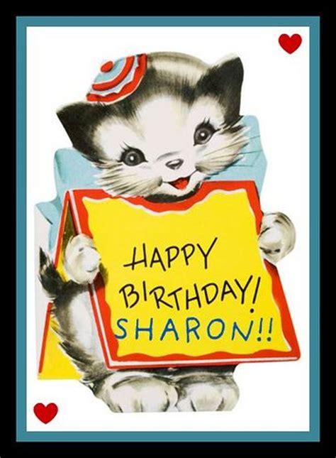 happy birthday sharon clipart clipground