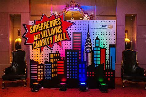 Superhero Themed Party  Chunky Onion Productions Ltd