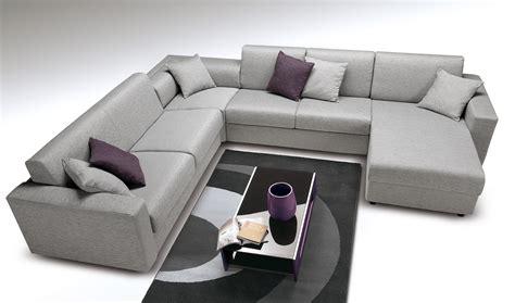 un canapé canapé d 39 angle convertible design avec un vrai lit