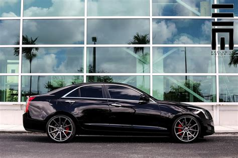 cadillac ats vossen flow formed series vfs  vossen wheels