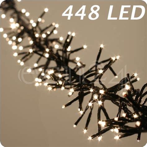 cluster lichterkette warmweiss led cluster lichterkette leuchtkette lichtkette warmweiss ebay