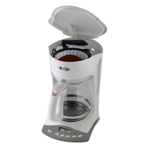 When i hold the hour button or the minute button it just keeps. Mr. Coffee® Advanced Brew 12-Cup Programmable Coffee Maker White, SKX20-RB