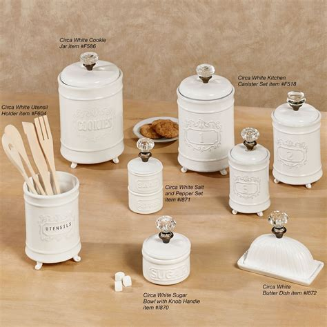 fashioned kitchen canisters circa white ceramic kitchen canister set