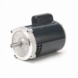 56c Frame Capacitor Start Oil Burner Motor  3  4 Hp  3450