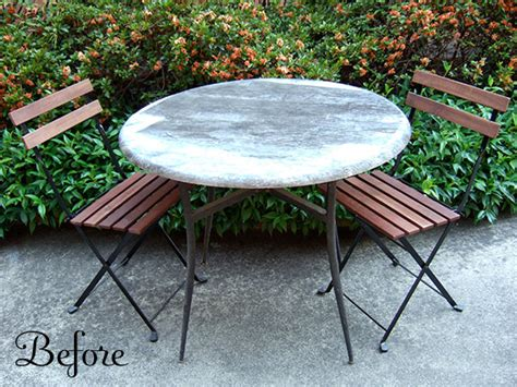 outdoor bistro table and caf 233 chairs crafty nest