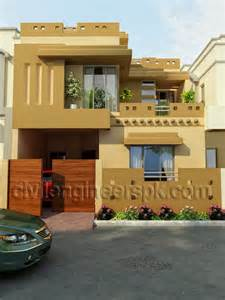 images front side home design front views civil engineers pk