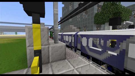 [en] [ger] (subtitles) Minecraft Railroad Crossing