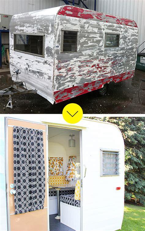 camp trailer   colorful facelift designsponge