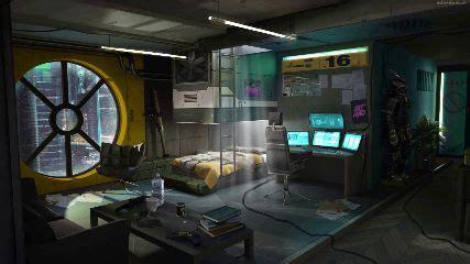 cyberpunk room animated wallpaper mylivewallpaperscom