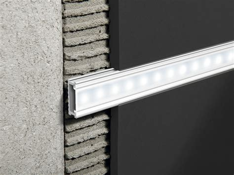 barre lumineuse led encastrable en aluminium prolistel led