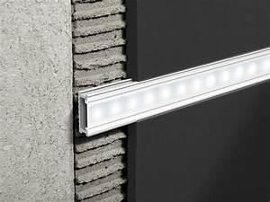 Barre Lumineuse Led : barre lumineuse led encastrable en aluminium prolistel led ~ Edinachiropracticcenter.com Idées de Décoration